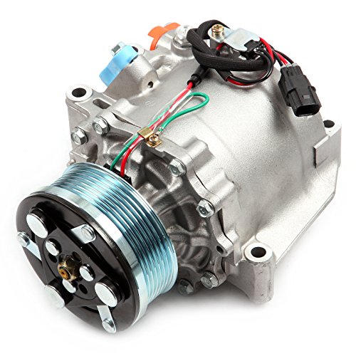 ECCPP A/C Compressor with Clutch fit for 2006-2011 Honda Civic 1.8L CO 4918AC AC Compressors