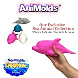 Animolds Squeeze me Sea Animals (Pink, Dolphin)