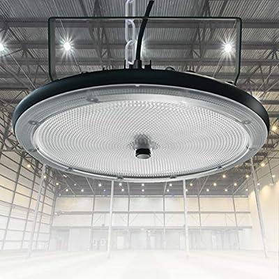 UFO LED High Bay Light, 300W Commercial Bay Lighting, 30000LM Daylight White, IP66 Waterproof Warehouse Lighting,UFO Super Bright Factory Supermarket Stadium Workshop Light