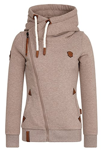 Naketano Female Zipped Jacket Family Biz Djubre Melange, S
