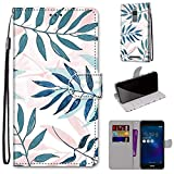 Gift_Source Zenfone 3 Max ZC520TL Coque, [Modèle 04] Étui Portefeuille Housse en Cuir PU Flip Case...