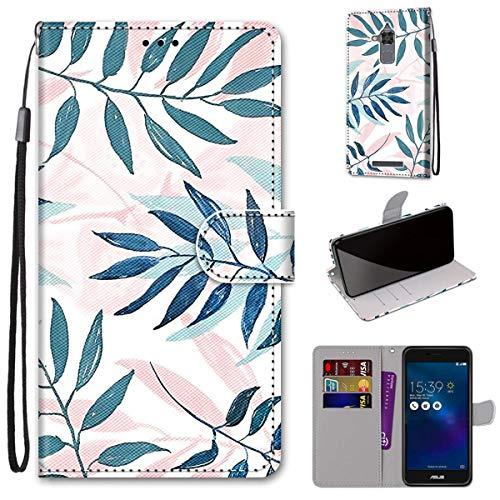 Gift_Source Zenfone 3 MAX ZC520TL Funda, [Patrón 04] PU Cuero Flip Carcasa Funda Protectora de Billetera Magnético Cover con Soporte Plegable, Ranura para Tarjeta para ASUS Zenfone 3 MAX ZC520TL 5.2'