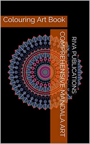 Comprehensive Mandala Art Colouring Art Book product image