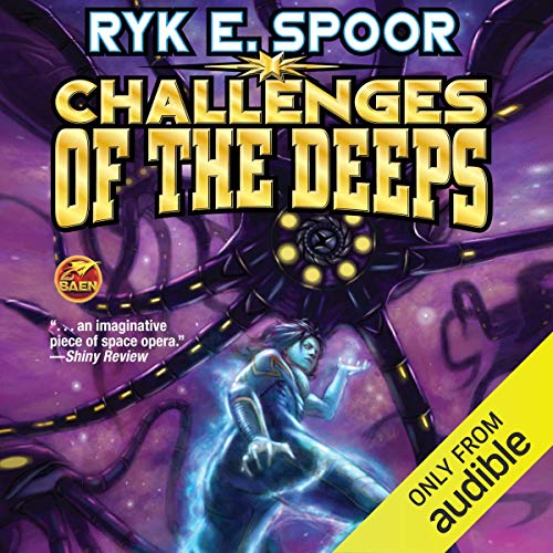 Challenges of the Deeps audiobook cover art