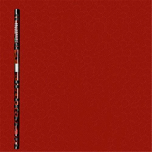NEHARO Flauta Musical Hecha a Mano Tradicional Conjunto de Instrumentos de Concierto de Flauta Plateado Plateado Flauta Instrumento de Viento (Color : Brown, Size : One Size)