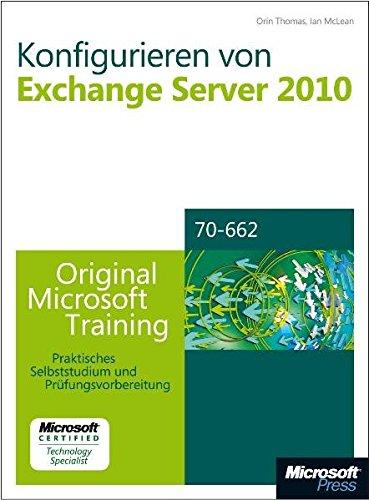 Konfigurieren von Microsoft Exchange Server 2010, m. CD-ROM