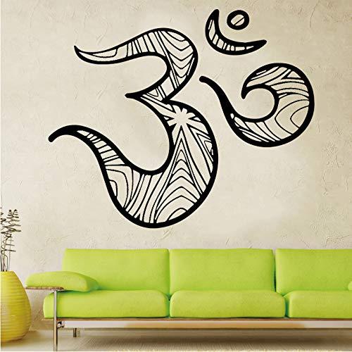 Kreative Kreative Malerei Wandaufkleber PVC Wandaufkleber Moderne Mode für Kinderzimmer Abnehmbare Dekor Wand Braun L 43cm X 35cm