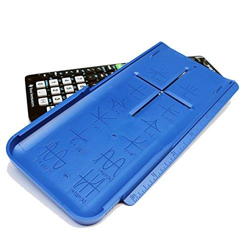 EZ Graphing Blue Hard Slide Cover for TI 84 Plus CE (See Description...