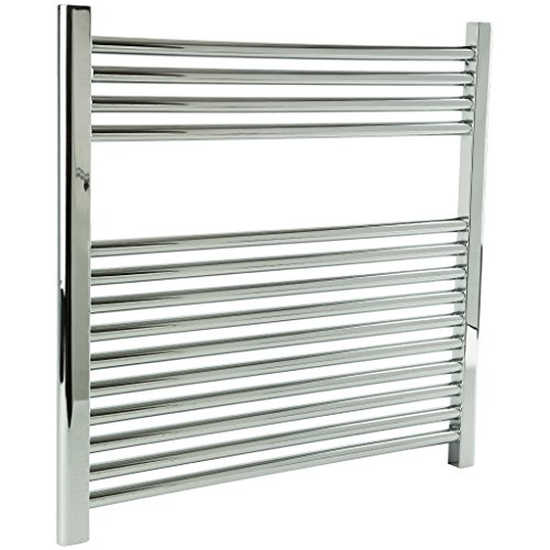 For Sale! Denby Towel Warmer Finish: Chrome, Size: 27 H x 30 W, Type: Plug-In