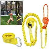 XiaZ Retractable Interactive Dog Toy, Rope Tug of War Toys for Small or Medium Dogs, Outdoor Hanging Exercise Play Tug War, Extra Durable, Safe