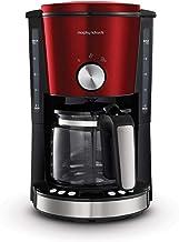Morphy Richards Evoke 162522 Filter Coffee Machine, Röd