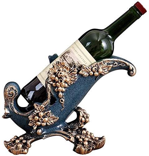 Zyyqt Wine Rack, einfache und kreative Harz-Material Wine Rack/Aufsatz- Anzeige Flaschengestell Handwerk/Weinregal Bracket/Wein-Ausstellungsstand