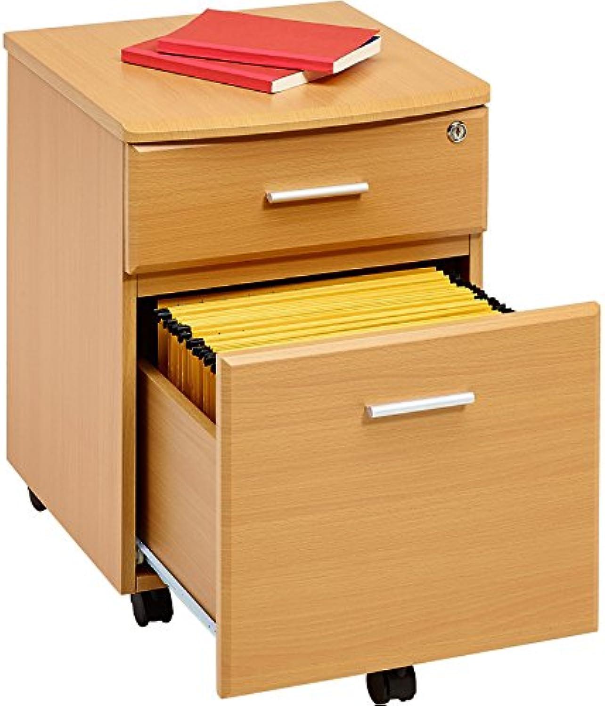 Piranha Büroschrank mit Zwei Schubladen und passend zu unseren Bürombeln LADEKAST PC 10b