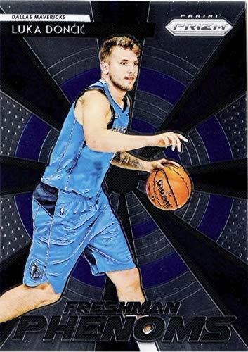 2018-19 Panini Prizm Freshman Phenoms - Luka Doncic - Dallas Mavericks Basketball Rookie Card - RC Card #23