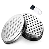 Cheese Grater with Food Storage Container and...