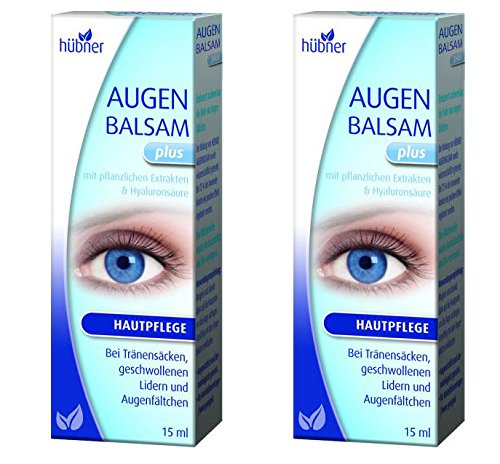 Hübner Augenbalsam plus 2x15ml