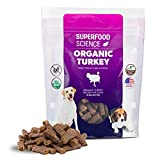 100% NATURAL ORGANIC TREATS FOR DOGS: Show your dog how much you care with these healthy organic dog treats made with premium organic turkey as the #1 ingredient. They're grain free and contain no artificial preservatives, flavors, or colors. WORKS L...