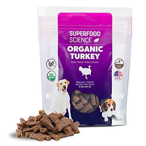 All Natural Organic Dog Treats, Turkey Dog Treats...
