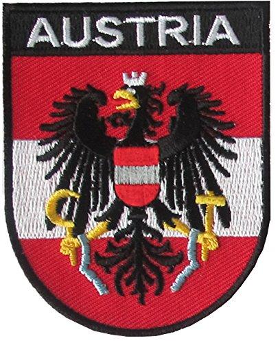 Yantec Wappen Patch Österreich Aufnäher Austria
