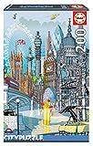 Educa Borras - Serie Citypuzzle, Puzzle 200 piezas, Londres (18470)