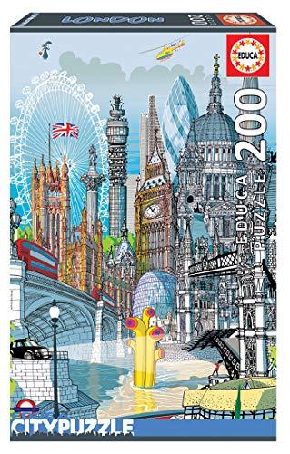 Educa Borrás-Serie Citypuzzle Puzzle 200