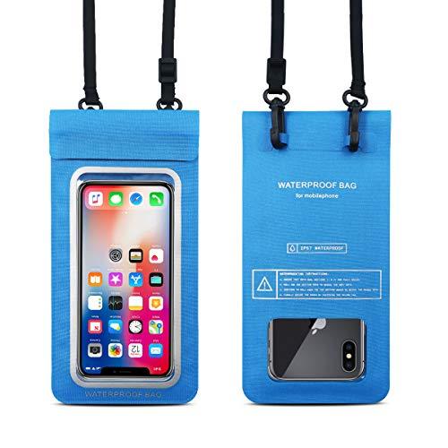 Bolsa impermeable para teléfono UKON Bolsa flotante subacuática seca para iPhone XR / X / XS / 8P / 8 /…