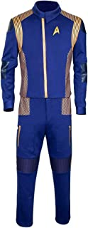 Discovery Commander Uniform Starfleet USS Captain Lorca Cosplay Costume