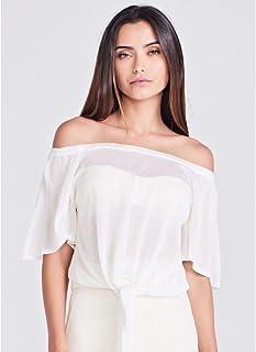 Blusa Ombro Branco