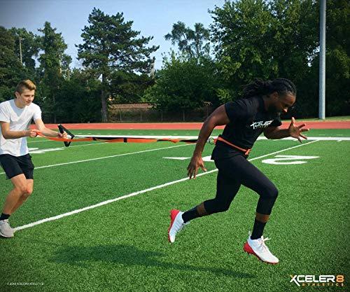 YNXing Speed Training Kit/Overload Running Resistance & Release , Geschwindigkeits- und Beweglichkeitsausrüstung für Sprint und Fußball, Basketball, Fußball
