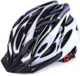 Lixada Adult Bike Helmet,Mountain Bike Helmet MTB Bicycle Cycling Helmets,Adjustable Dial-Fit Integrally Molding