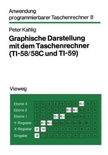 Graphische Darstellung mit dem Taschenrechner: TI-58/58C und TI-59 (Anwendung programmierbarer Taschenrechner) (German Edition) by Peter Kahlig(1981-01-01)