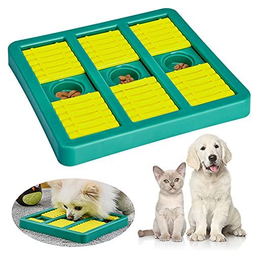 Speyang Gioco Rompicapo Cani, Giocattolo Alimentatore per Animali Domestici, Dispenser di Cibo per Cani, Giocattolo Interattivo per Cani, per Cani, Cuccioli e Gatti