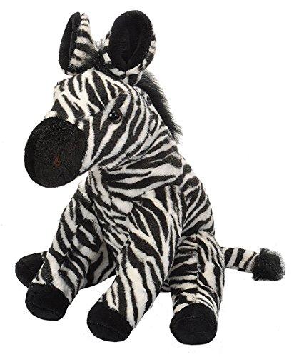 Wild Republic 19378 Plüsch Zebra, Cuddlekins Kuscheltier, Plüschtier, 30 cm