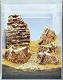 Sera 32339 Hardscape Desert - Piedras y Fondo para acuarios temáticos (80 L)