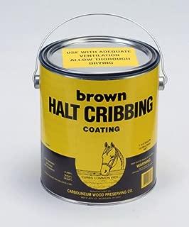 CARBOLINEUM PRODUCTS Halt Cribbing - Gallon - Brown