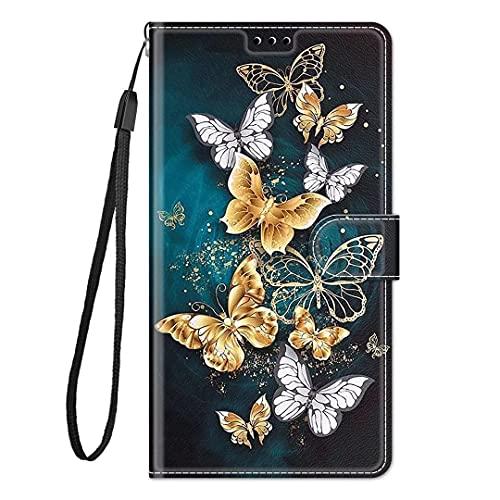 Cover Compatibile con iPhone 13 Pro, Retro Design iPhone 13 Pro Flip Caso in PU Pelle Premium Portafoglio Slot per Schede Chiusura Magnetica Custodia Compatibile con iPhone 13 Pro