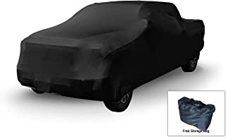 Indoor Truck Cover Compatible with 2001-2019 Toyota Tacoma Double Cab~5Ft Bed - Ultra Soft Material - Guaranteed Keep Vehicle Clean Between Use - Includes Storage Bag