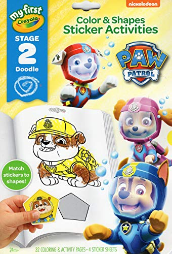 Crayola My First Stage 2 Doodle Paw Patrol