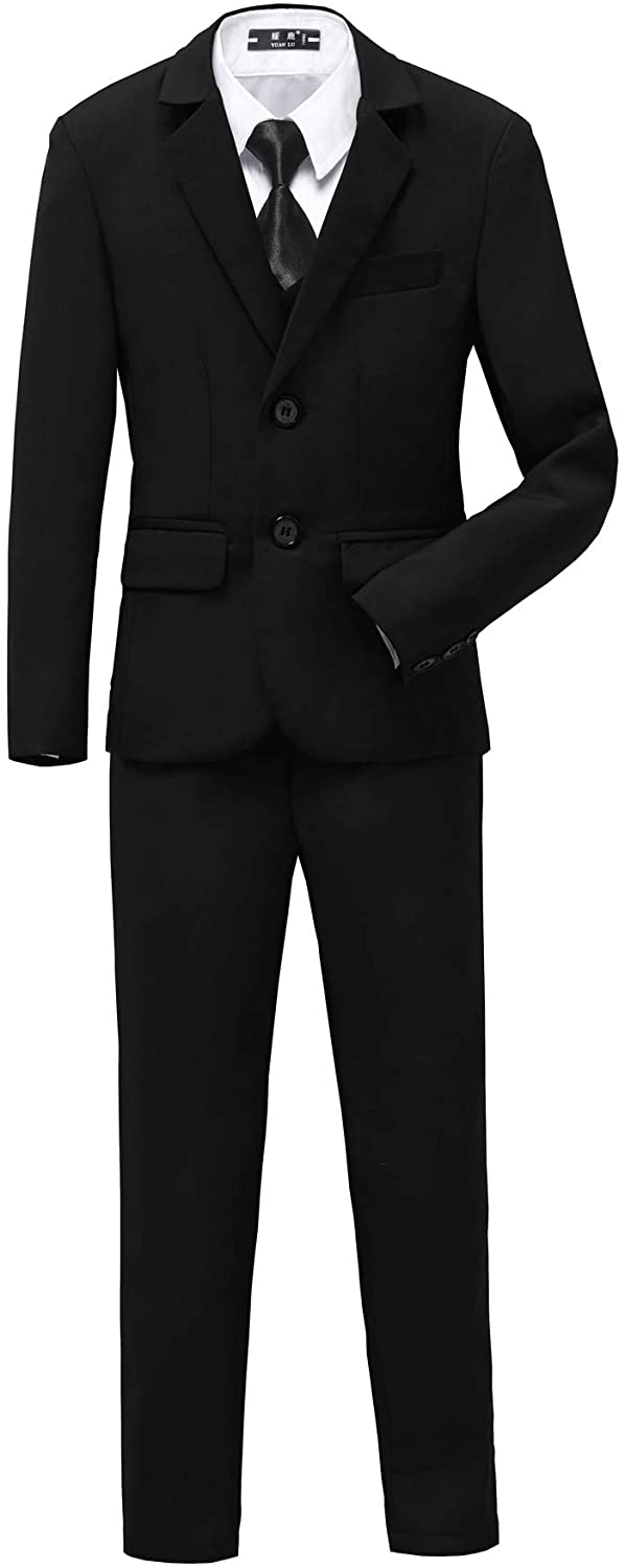 YuanLu Boys Tuxedo for Kids Toddler 25% OFF Tail Colorado Springs Mall Formal Set Boy Suits No