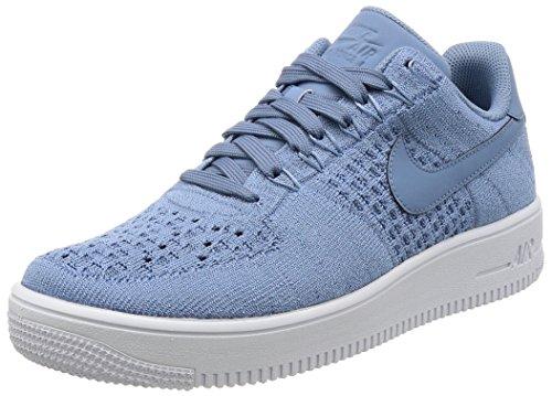 Nike AF1ultra Flyknit Low, scarpe sportive uomo, (Work Blue White 402), 42 EU