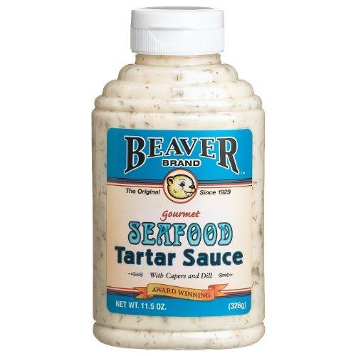 Beaver Brand Gourmet Seafood Tatar Sauce - 11.5 Ounce (Pack of 2)