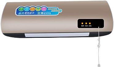 NFJ Calefactor Cerámico De Pared Ceramic. Pantalla Digital, Oscilación, IPX2, Mando A Distancia, Temporizador, 3 Modos, Protección Sobrecalentamiento, 2000 W,C
