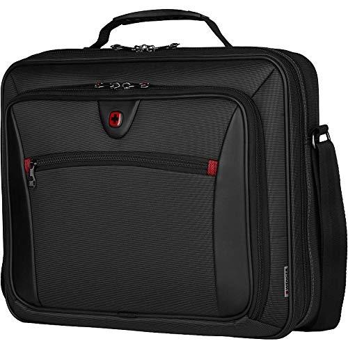WENGER Insight 15.6' Polyester Zip Laptop Case - Black