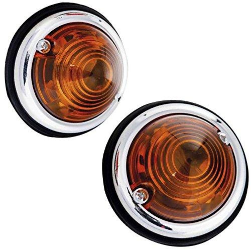 Provence Outillage 00905 Feux de gabarit Rond orange-70 mm de diamètre, Orange