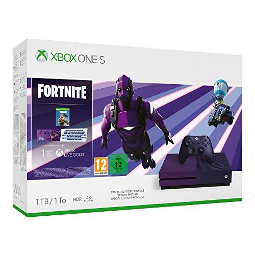 Preisvergleich Produktbild Microsoft Xbox One S 1TB Fortnite Special Edition Bundle