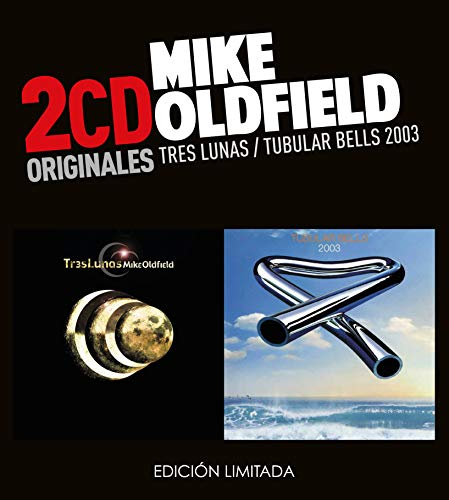 Mike Oldfield -Tres Lunas  /  Tubular Bells 2003  (2 CD)