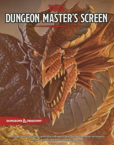 Wizards Rpg Team: D&D Dungeon Master's Screen (Dungeons & Dragons Accessories)