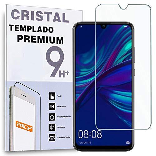 REY Protector de Pantalla para Huawei P Smart Plus 2019 - P Smart 2019 - Honor 10 Lite - P Smart 2020, Cristal Vidrio Templado Premium