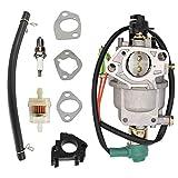 SAKITAM Carburetor Kit for Generac & Centurion GP5000 5944 0055770 389CC 5000 6250 Watts Generator