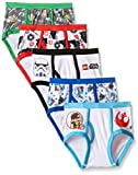 Star Wars Little Boys' Lego Star Wars 5 Pack Underwear Brief, Multi, 6